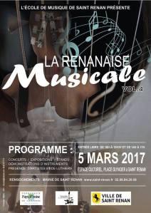 Affiche du Salon de la Musique (05/03/17)